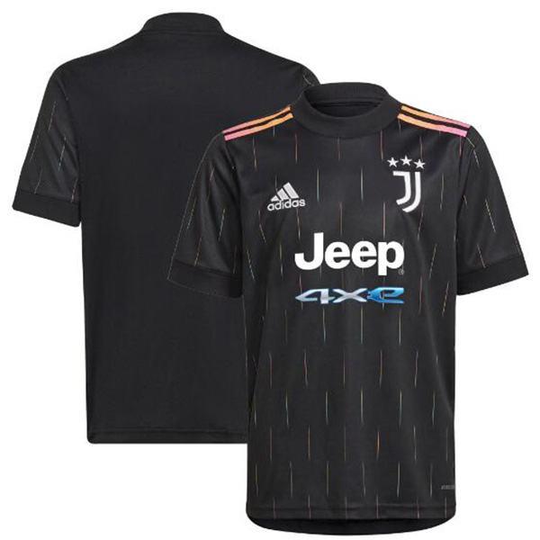 Juventus away jersey sportswear men's second soccer shirt football shirt black 2021-2022