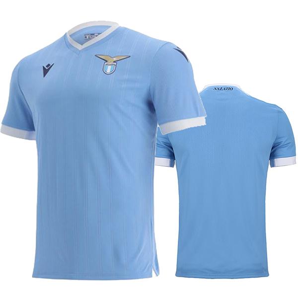 Lazio home jersey soccer match men's first sportswear football tops sport shirt 2021-2022