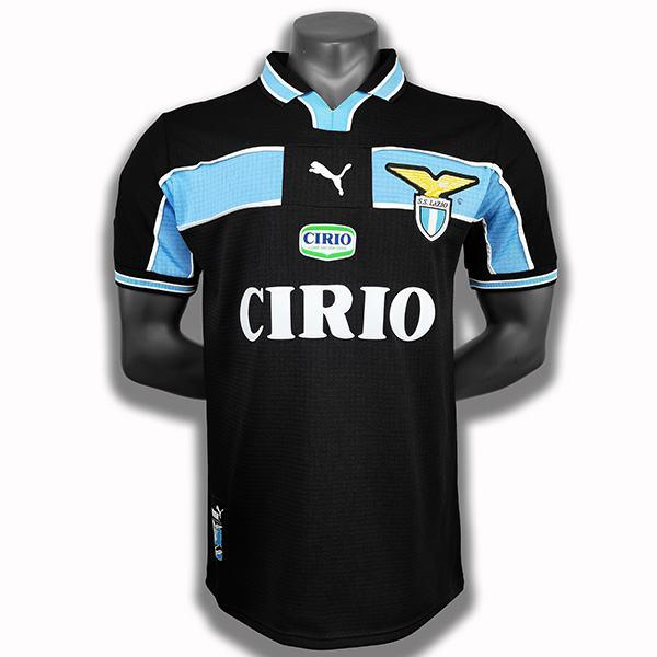 Lazio retro soccer jersey maillot match men's soccer sportwear football shirt 1998-1999