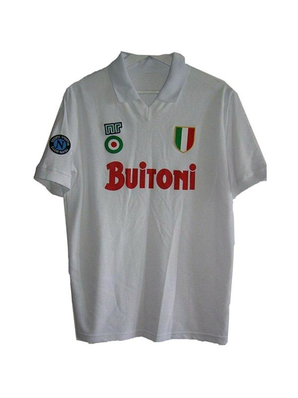Napoli away retro soccer jersey sportwear men's second soccer ...