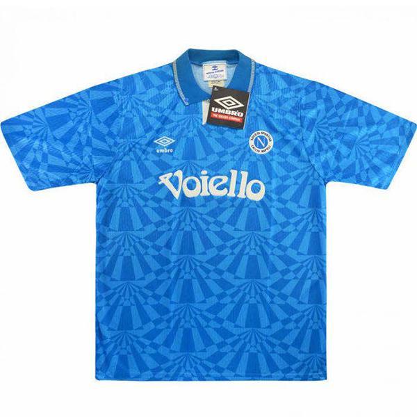SSC Napoli home retro jersey maillot match men's 1st soccer sportwear football shirt 1991-1993