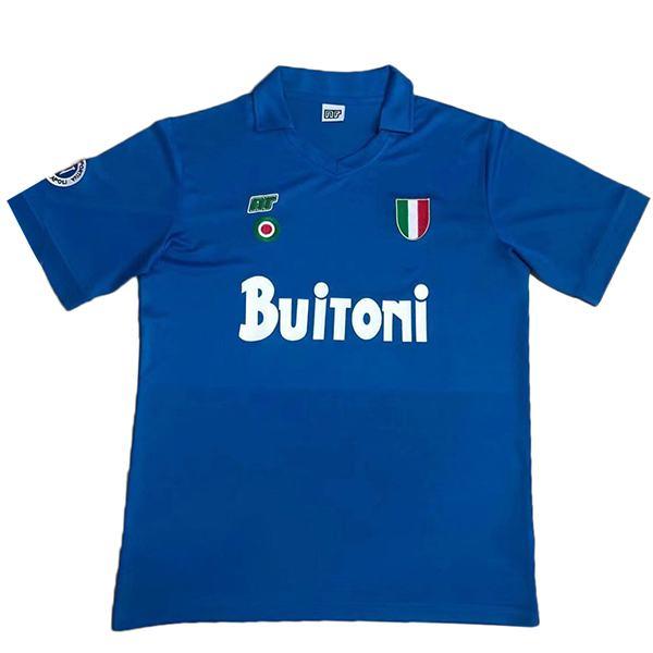 SSC Napoli home retro jersey soccer jersey match men's sportwear football shirt 1987-1988