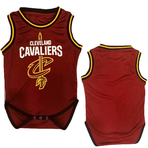 Cleveland Cavaliers Red Baby Onesie