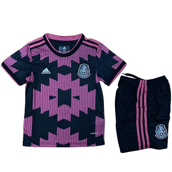 Mexico home kids kit soccer children first football shirt maillot match youth uniforms 2021