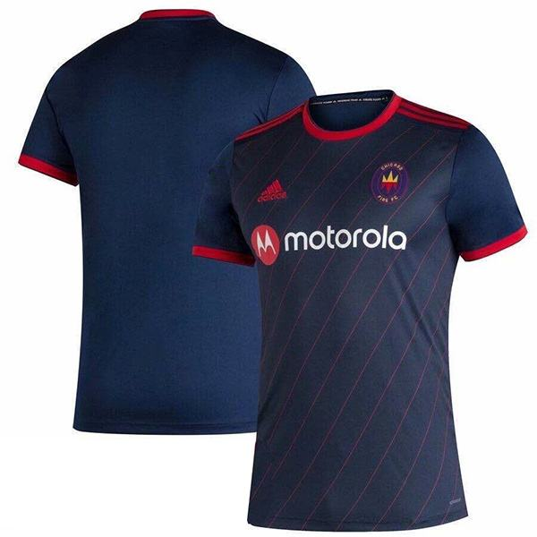 Chicago Fire home jersey maillot match men's 1st soccer sportwear football shirt 2020-2021