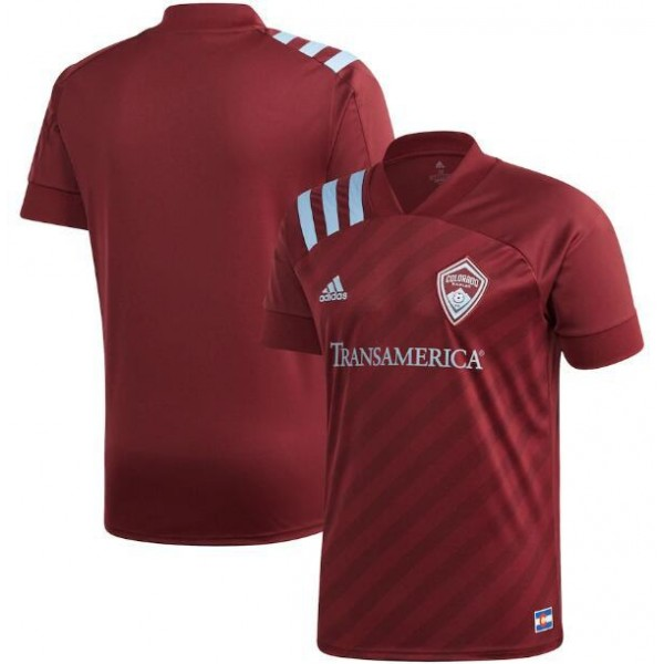 Colorado rapids home jersey jersey maillot match men's 1st soccer sportwear football shirt 2020-2021