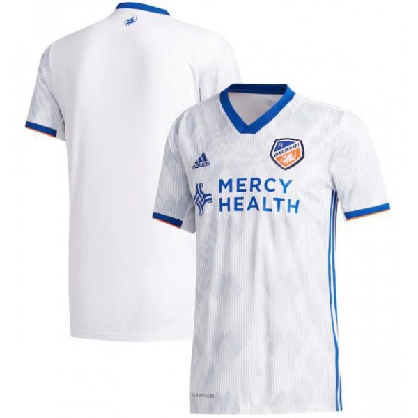 FC Cincinnati away soccer jersey maillot match men's 2ed sportwear football shirt 2020-2021