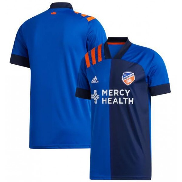 FC Cincinnati home soccer jersey maillot match men's 1st sportwear football shirt 2020-2021
