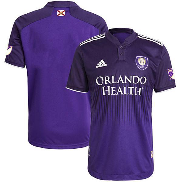Orlando City SC home authentic custom jersey sportswear men's first soccer shirt football sport t-shirt 2021