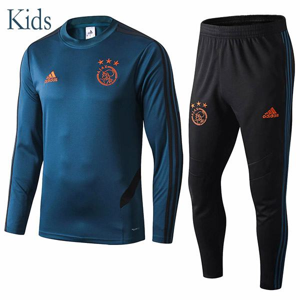 Ajax Tracksuit Kids Kit Champions League Soccer Pants Suit Sports Set Necked Cleats Youth Clothes Children Football Training Jersey 2019