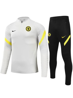 Chelsea tracksuits soccer pants suit sports set necked cleats men's clothes football training jersey white 2021-2022