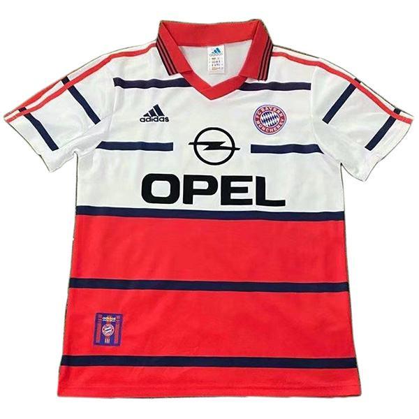 Bayern munich away jersey retro vintage soccer match men's second sportswear football shirt 1998-2000