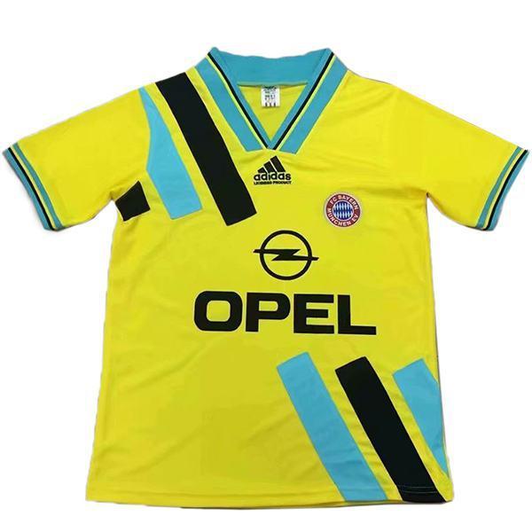 Bayern munich away retro vintage soccer jersey match men's second sportswear football shirt 1993
