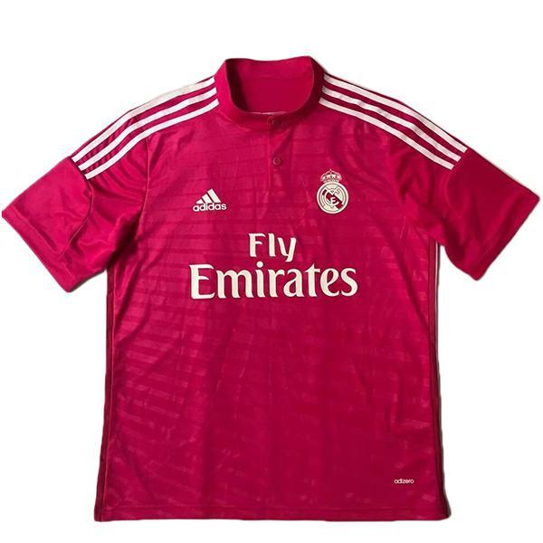 Real madrid away retro jersey maillot match men's 2ed sportwear football shirt 2014-2015