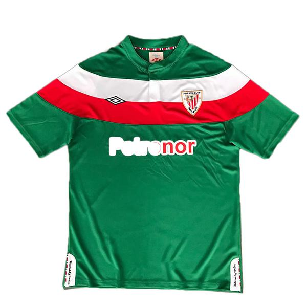 Athletic Bilbao away retro soccer jersey sportwear men's second soccer shirt football sport t-shirt 2011-2012