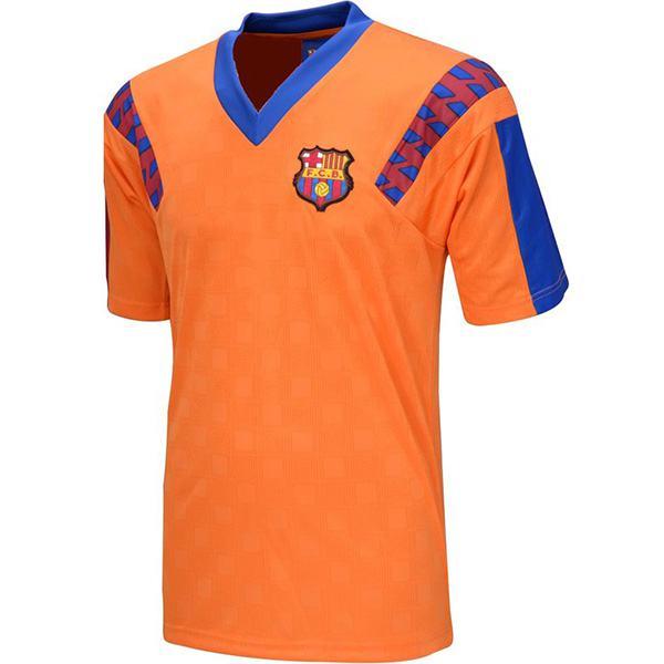 Barcelona away retro jersey maillot match men's 2ed soccer sportwear football shirt 1991-1992