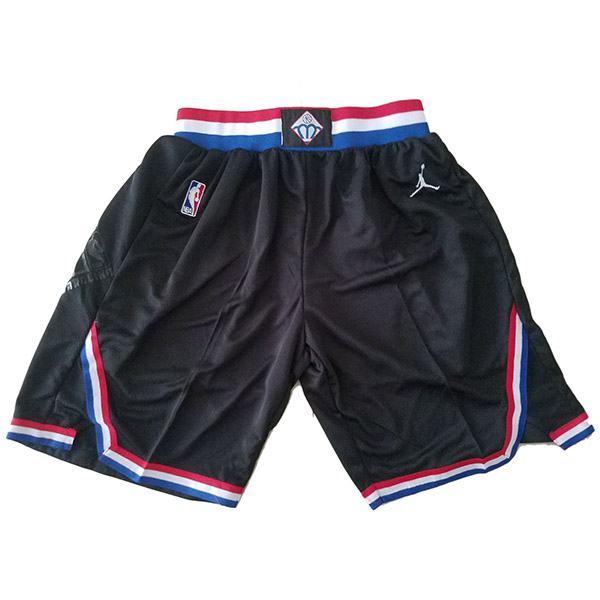 2019 All Star Game Authentic Black Jordan NBA Shorts