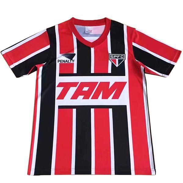 Sao paulo away retro soccer jersey maillot match men's second sportswear football shirt 1993-1994