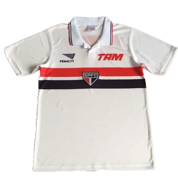 Sao paulo home retro soccer jersey maillot match men's 1st sportwear football shirt 1994