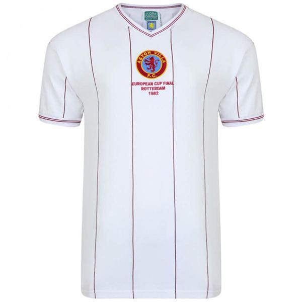 Aston Villa away European Cup Final vintage retro jersey commemorating football shirt match men's second sportswear football shirt 1982