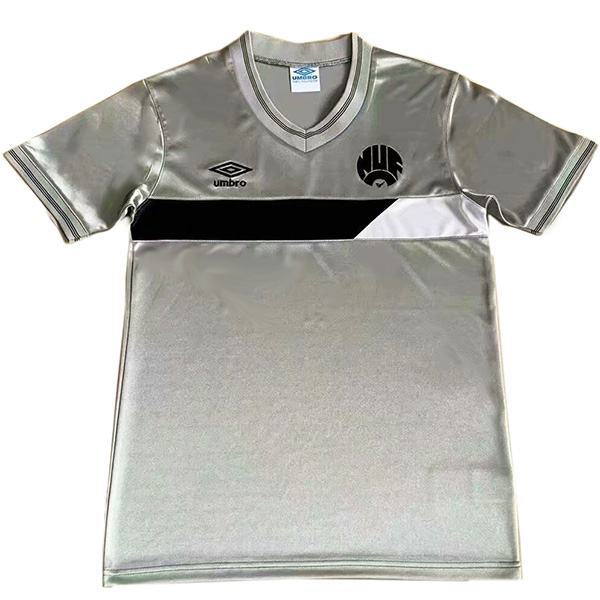 Newcastle United away retro vintage soccer jersey match men's second sportswear football 1986-1987