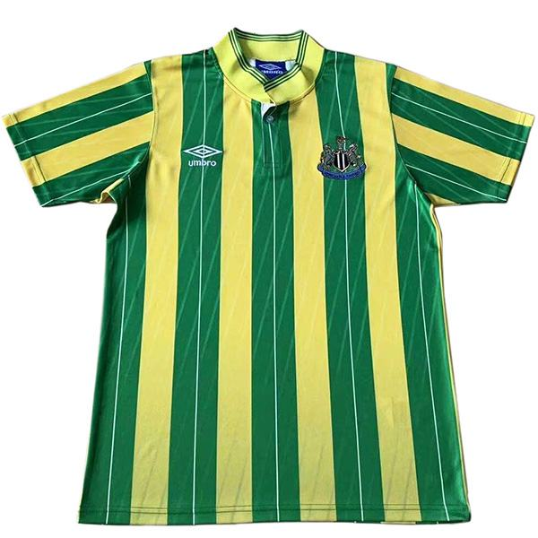 Newcastle United away retro vintage soccer jersey match men's second sportswear football 1988