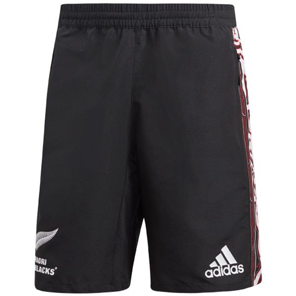 All black home rugby shorts 2019