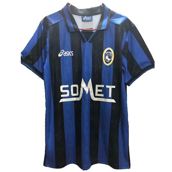 Atalanta home retro soccer jersey maillot match men's 1st sportwear football shirt 1996-1997