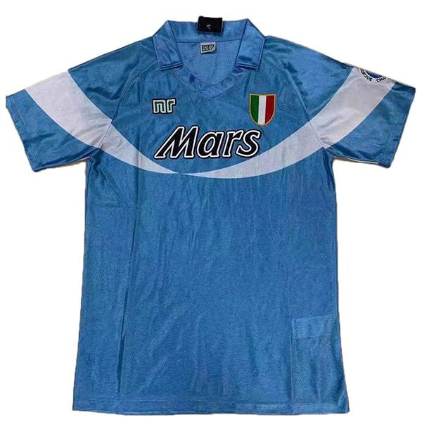 Napoli home retro special version soccer jersey maillot match men's first sportswear football shirt 1990-1991