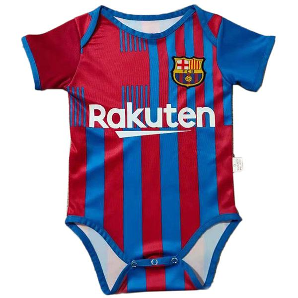 Barcelona home baby onesie new born baby sunmmer clothes one-piece junpsuit 2021-2022