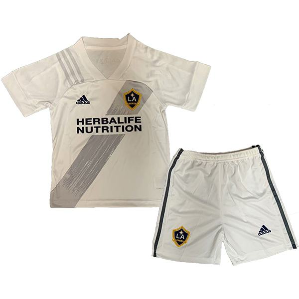 Los Angeles Galaxy Home Kids Kit Children Football Shirt Youth Soccer First Uniforms 2020-2021